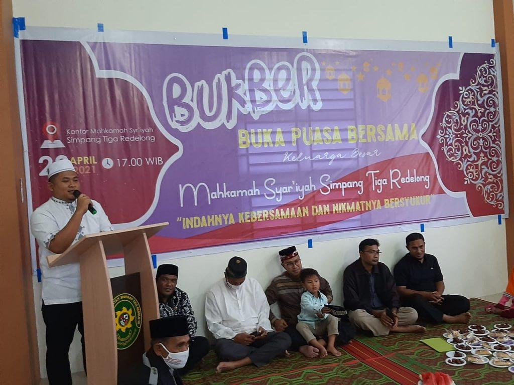 Bukber Keluarga Besar MS Simpang Tiga Redelong