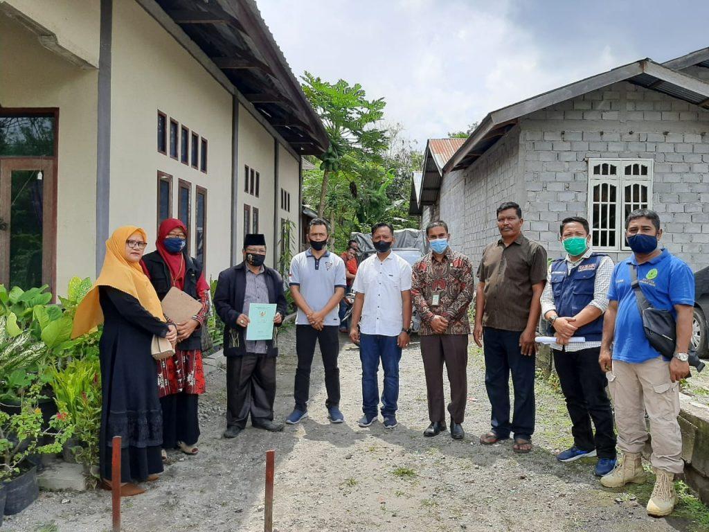 MS Simpang Tiga Redelong Laksanakan Eksekusi Pertama di Tahun 2021