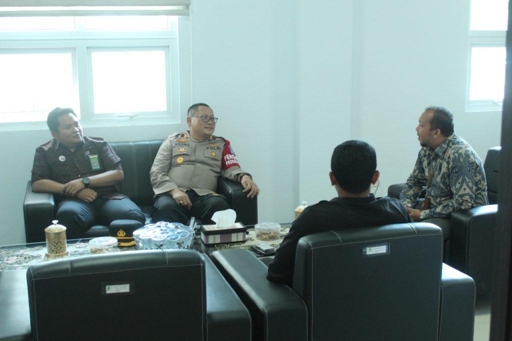 Silaturrahmi Kapolres Bener Meriah dengan Ketua MS Simpang Tiga Redelong